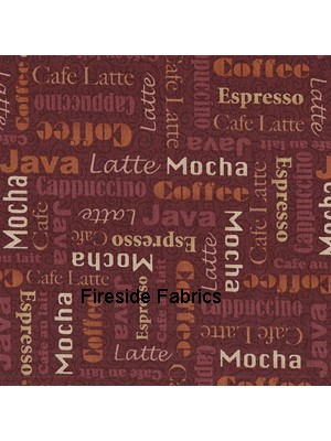 1028V - MOCHA - WORDS - BROWN