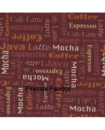 MOCHA - WORDS - BROWN
