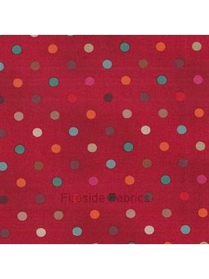 1030R - MOCHA - SPOTS - RED