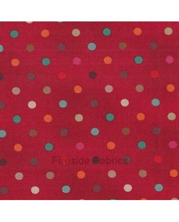 MOCHA - SPOTS - RED (1 Left)