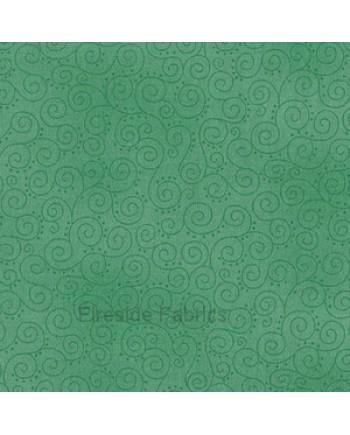 MOCHA - SCROLLS - TURQUOISE GREEN