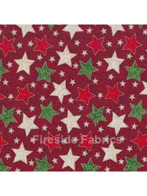 CHRISTMAS STARS - RED