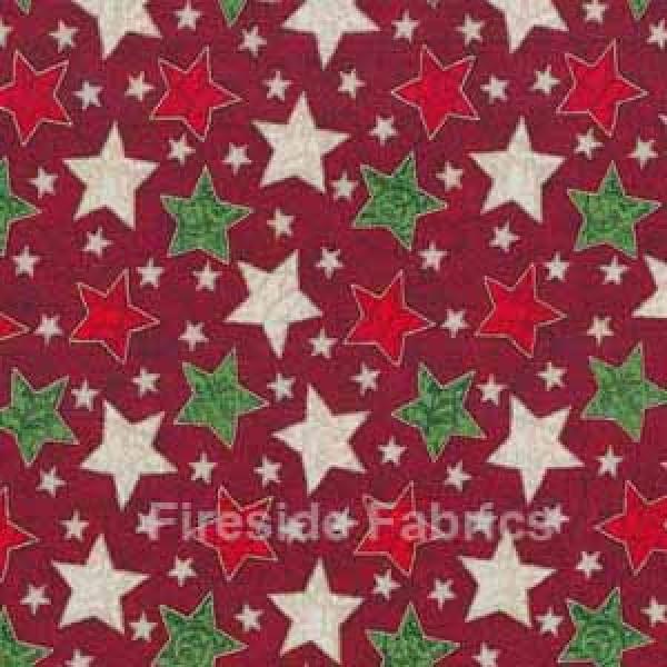 CHRISTMAS STARS - RED