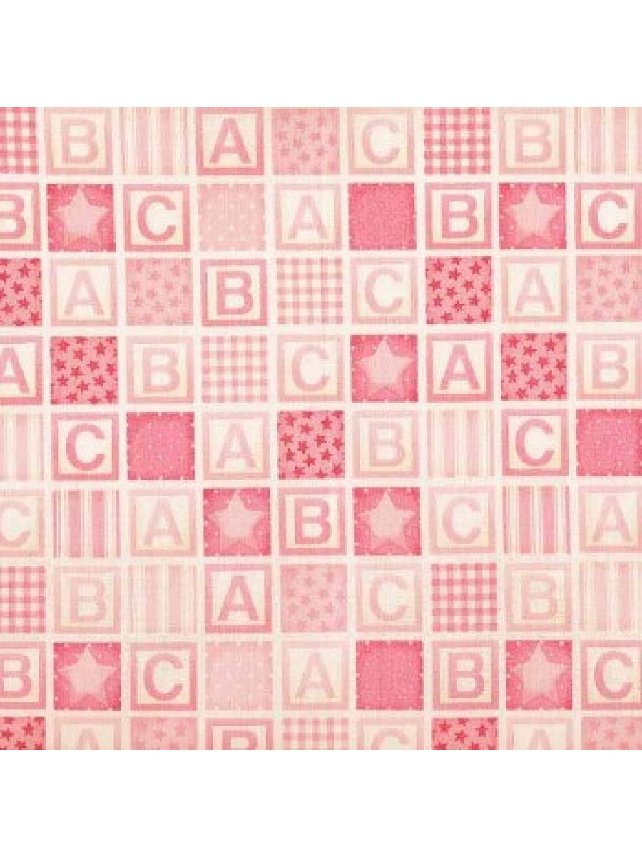 BABY - ABC SQUARES - PINK