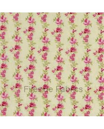 BOTANICAL - ROSE STRIPE - GREEN