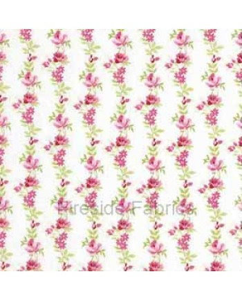 BOTANICAL - ROSE STRIPE - CREAM