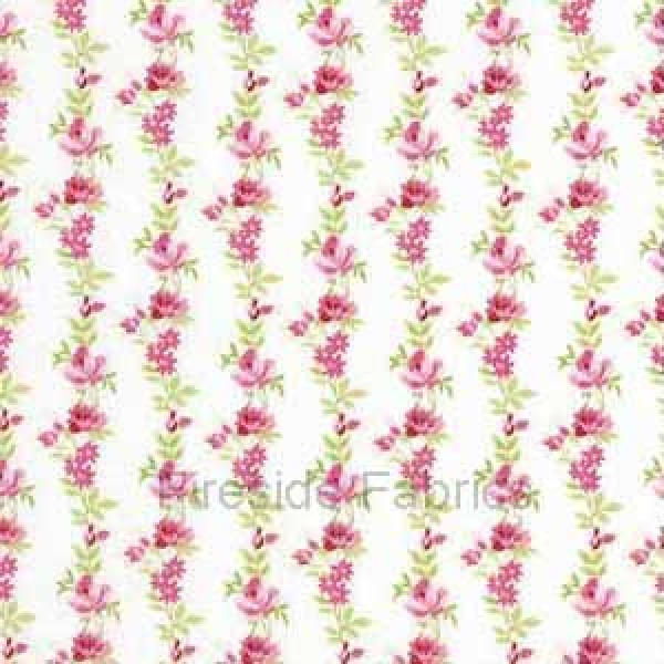 BOTANICAL - ROSE STRIPE - CREAM