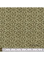 CELTIC COORIE - THISTLES - OLIVE GREEN
