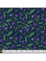 CELTIC COORIE - THISTLES - SCATTERED - BLUE