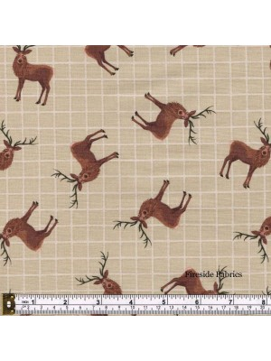 CELTIC COORIE - STAGS - DARK NATURAL