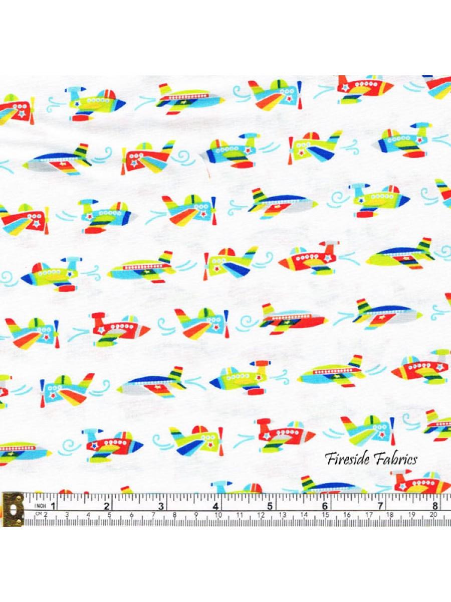 AIR SHOW - PLANES - WHITE