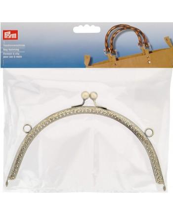 BAG HANDLE - ANTIQUE GOLD - 20 X 10.5CM - REBECCA