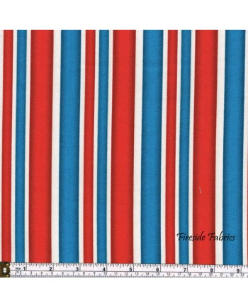 LONDON - STRIPE - RED/WHITE/BLUE