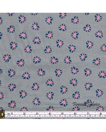 BRITANNIA - UNION JACK HEARTS - GREY