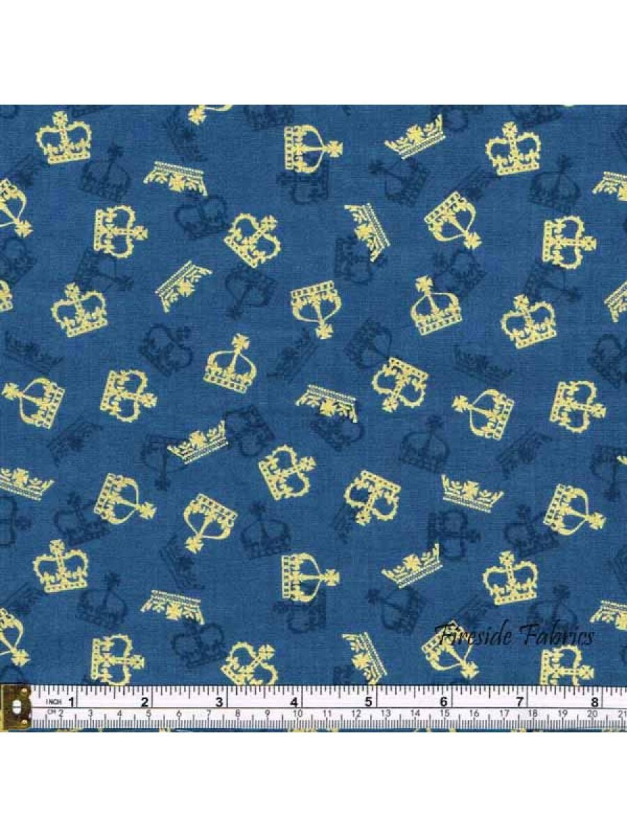 BRITANNIA - CROWNS - BLUE