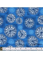 BRITANNIA - CLOCK FACE - BLUE