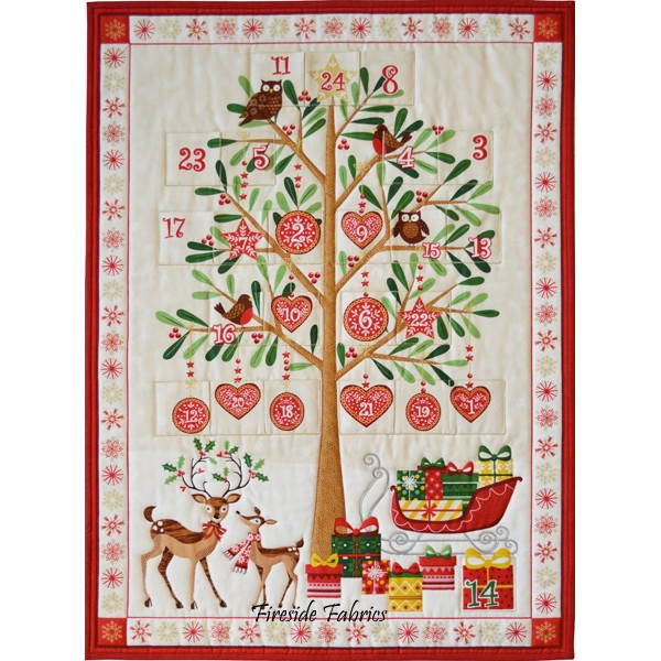 TRADITIONAL TREE ADVENT PANEL