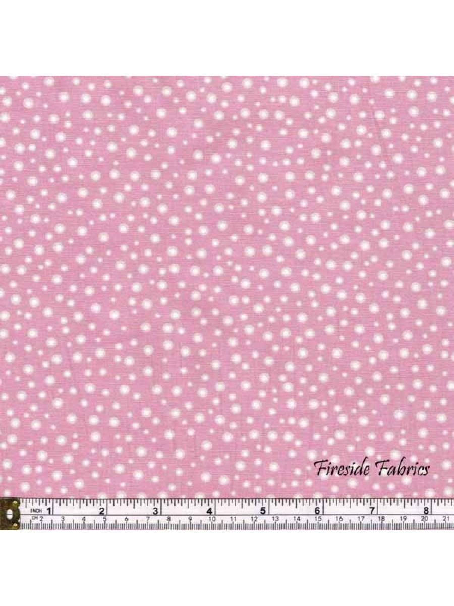 FAIRY LIGHTS - GLOW SPARKLES - PINK - GLOW IN THE DARK FABRIC