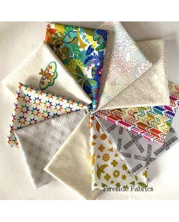 ART THEORY DAY - 10 FAT QUARTER PACK