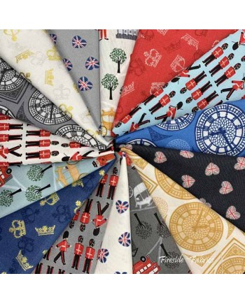 BRITANNIA - 15 FAT QUARTER PACK