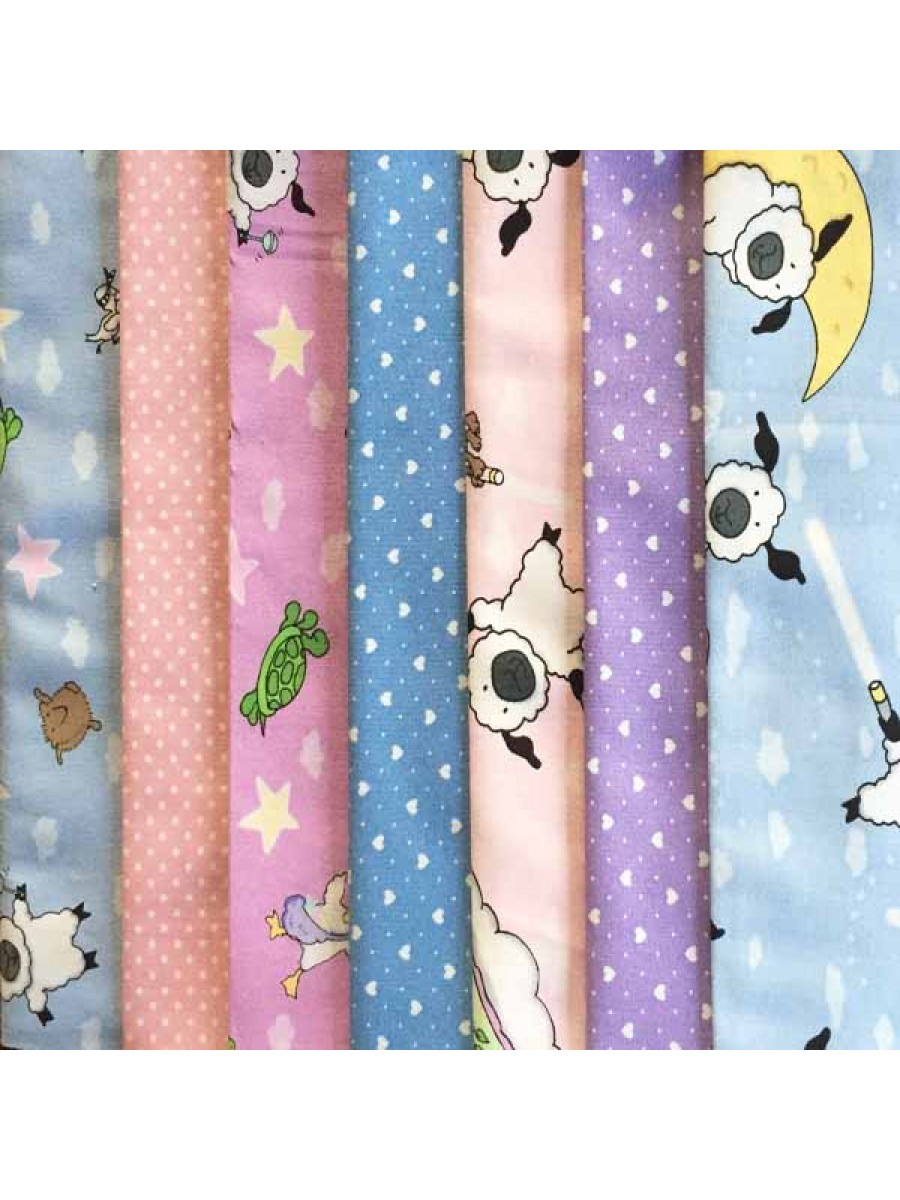 LULLABY - 7 FAT QUARTER PACK