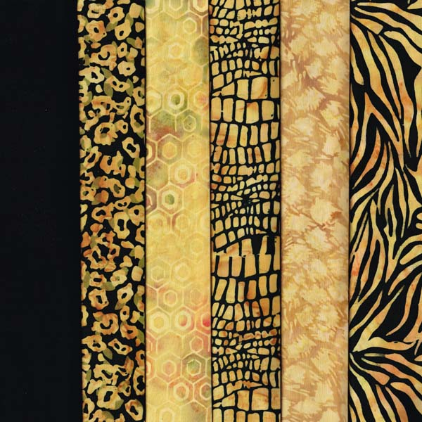 WALK ON THE WILD SIDE - 6 FAT QUARTER PACK
