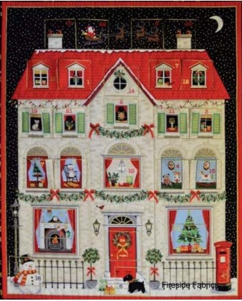 HOUSE ADVENT CALENDAR KIT