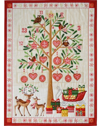 TRADITIONAL TREE ADVENT CALENDAR KIT