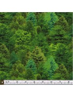LANDSCAPE MEDLEY - FOREST TREES - GREEN