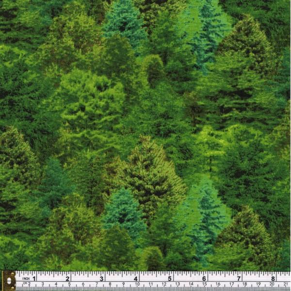 LANDSCAPE MEDLEY - FOREST TREES - GREEN