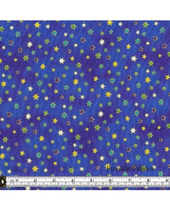 CELESTIAL MAGIC - STARS - DARK BLUE