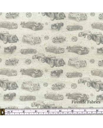 MG CARS - TEXTURE - CREAM