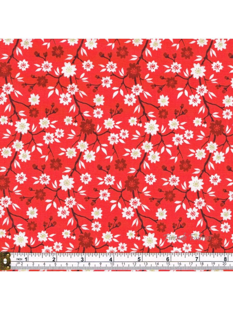 KIMONO - BLOSSOM TREE - RED