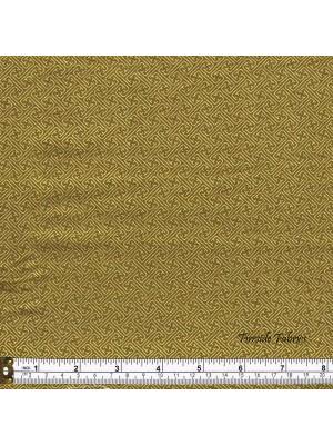KIMONO - LATTICE - GREEN-GOLD