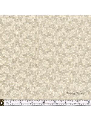 KIMONO - LATTICE - CREAM-GOLD