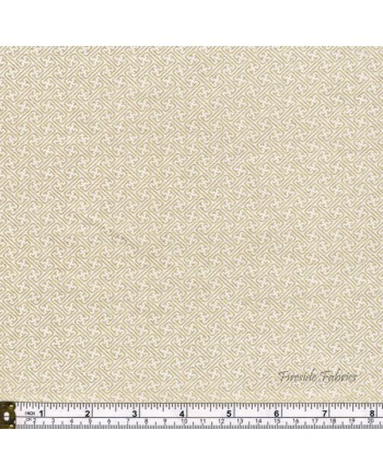 KIMONO - LATTICE - CREAM-GOLD (2 Left)