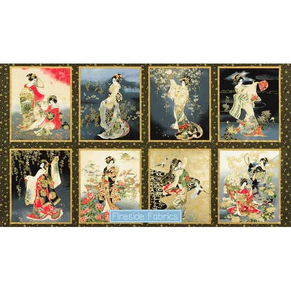 IMPERIAL COLLECTION 16 - GEISHA PANEL