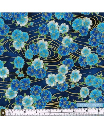 IMPERIAL COLLECTION 16 - FLOWER - BLUE