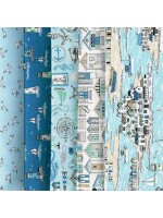 BEACHCOMBER - 5 FAT QUARTER PACK
