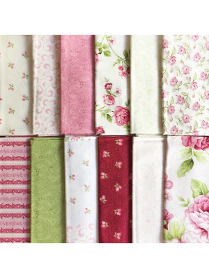 SYMPHONY ROSE - 12 FAT QUARTER PACK