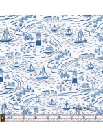 FROM OLD HARRY ROCKS - SCENE - BLUE / WHITE