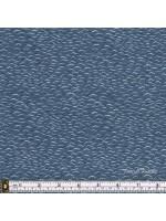 FROM OLD HARRY ROCKS - GENTLE WAVES - DK GREY BLUE