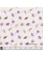 SMALL THINGS - BY THE SEA - SHELLS - CREAM