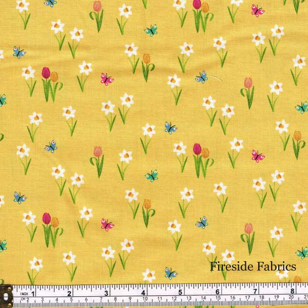 SPRING - MEADOW - YELLOW