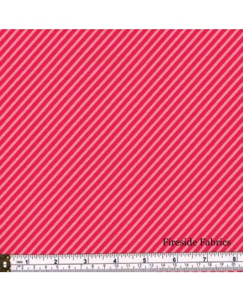 SWEET SHOPPE - CANDY STRIPE - RUBY