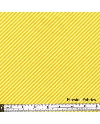 SWEET SHOPPE - CANDY STRIPE - SUNFLOWER