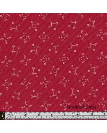 SWEET SIXTEEN - PINWHEEL - RED
