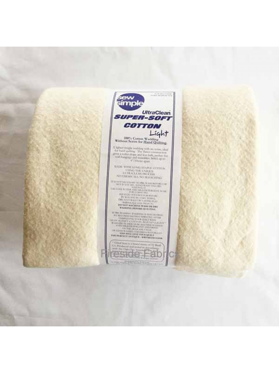 WADDING - LIGHT COTTON - QUEEN SIZE