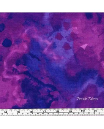 MARIPOSA MEADOWS - WATERCOLOUR - PURPLES (1 Left)
