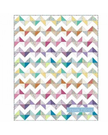 ALISONS'S FLOWERS QUILT KIT